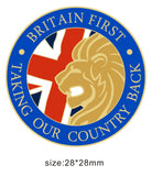 Britain First - Taking Our Country Back Lapel Pin