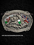 British By Birth Welsh By The Grace Of God Lapel Pin