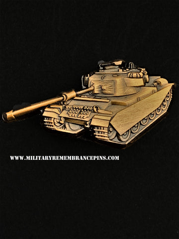 Centurion Main Battle Tank Vehicle Lapel Pin