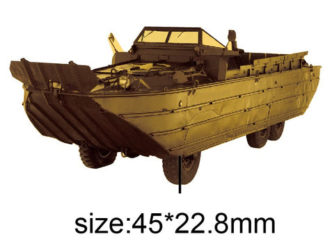 DUKW Amphibious Truck Vehicle Lapel Pin