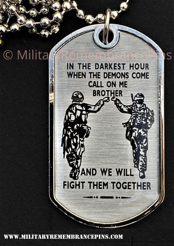 Generic Military Dog Tag