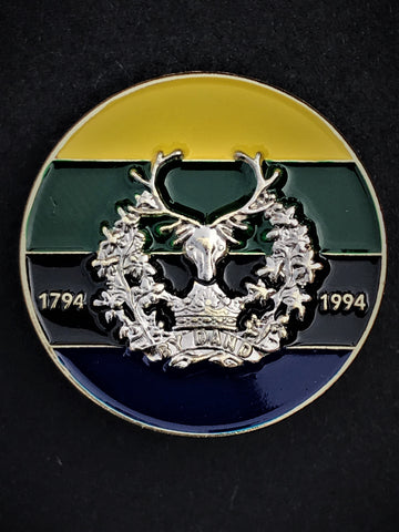 Gordon Highlanders Colours Lapel Pin