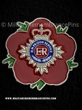 Her Majesty's Prison Service Bathstar Remembrance Flower Lapel Pin