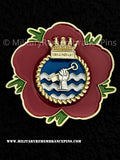 HMS Dreadnought Royal Navy Submarine Remembrance Flower Lapel Pin