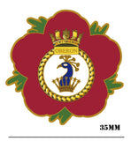 HMS Oberon Royal Navy Remembrance Lapel Pin