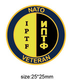 International Police Task Force NATO Colours Lapel Pin