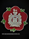 Kings Own Scottish Borderers  Remembrance Flower Lapel Pin