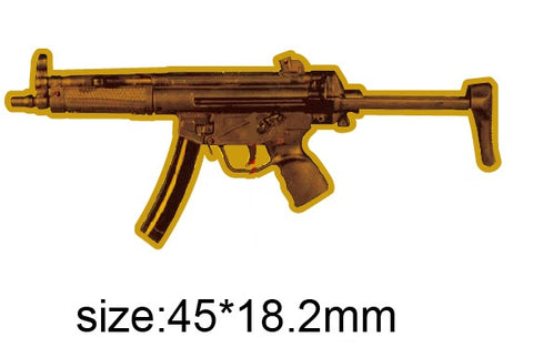 Heckler & Koch MP5 Submachine Weapon Lapel Pin
