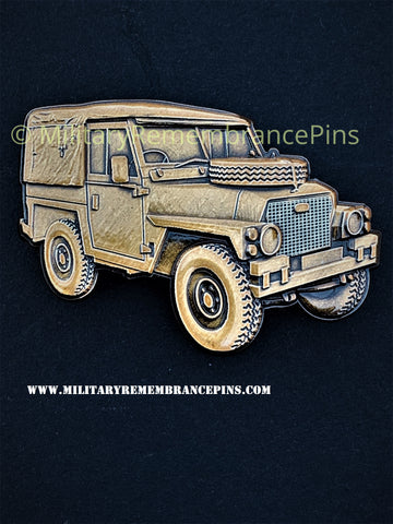 Land Rover 1/2 Ton Lightweight Vehicle Lapel Pin