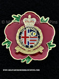 National Malaya & Borneo Veterans Association Remembrance Flower Lapel Pin