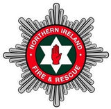 Northern Ireland Fire & Rescue Service Remembrance Flower Lapel Pin