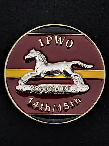 Prince of Wales Own Regiment of Yorkshire (PWO) Colours Pin