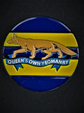 Queens Own Yeomanry QOY Colours Lapel Pin