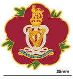 Queen's Royal Hussars QRH Remembrance Flower Lapel Pin