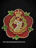 Royal Army Dental Corps RADC Remembrance Flower Lapel Pin