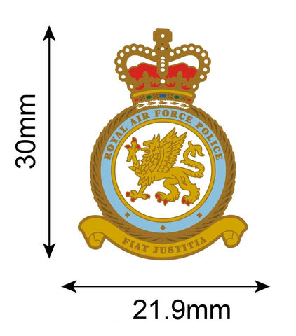 Royal Air Force Police Crest Lapel Pin