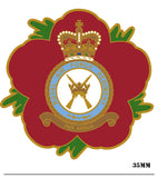 Royal Air Force Regiment RAFR Remembrance Flower Lapel Pin