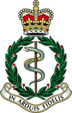 Royal Army Medical Corps RAMC Remembrance Flower Pin