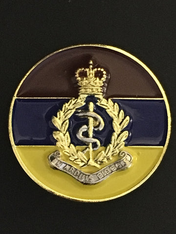 Royal Army Medical Corps Colours Lapel Pin