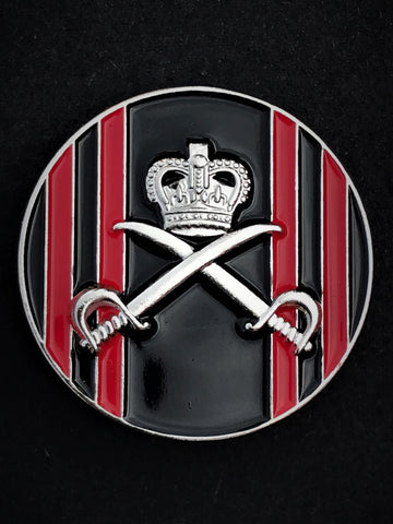 Royal Army Physical Training Corps (RAPTC) Colours Pin