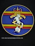 Royal Electrical Mechanical Engineers REME Colours Lapel Pin