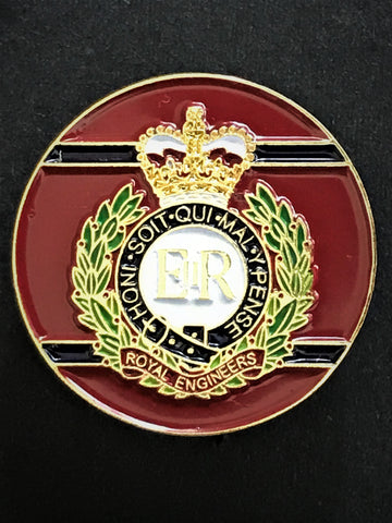 Royal Engineers Colours Pin