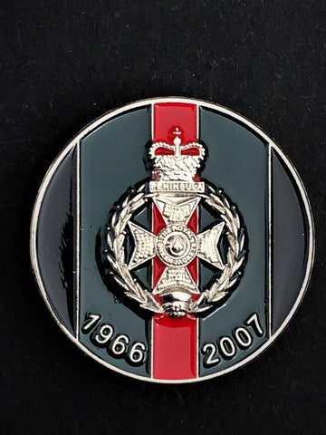 Royal Green Jackets Colours Pin