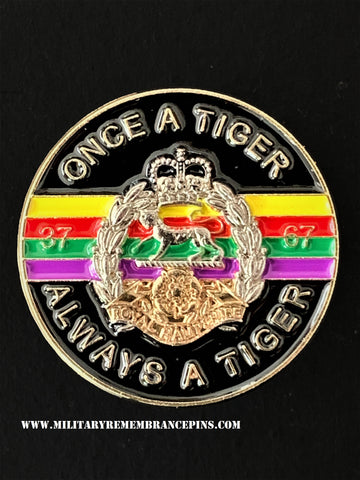 Royal Hampshire Regiment Colours Lapel Pin