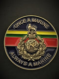 Royal Marines Colours Lapel Pin