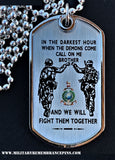 Royal Marines Dog Tags