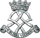 Royal Yeomanry RY Remembrance Flower Lapel Pin