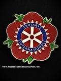Rotary International Remembrance Flower Lapel Pin