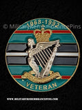 Royal Irish Rangers Veterans Colours Lapel Pin