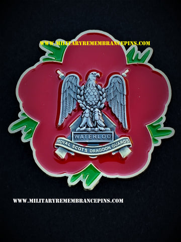 SCOTS DG Remembrance Flower Lapel Pin