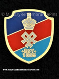 SSAFA Shield Logo Support Lapel Pin