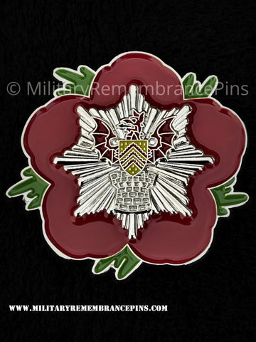 South Wales Fire & Rescue Remembrance Flower Lapel Pin