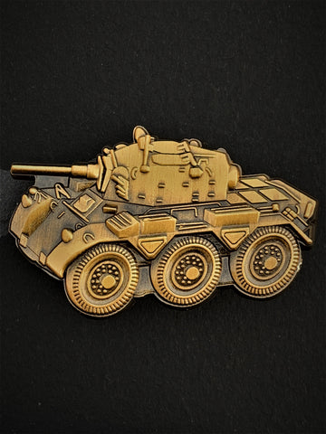 Saladin FV601 Armoured Car Vehicle Lapel Pin