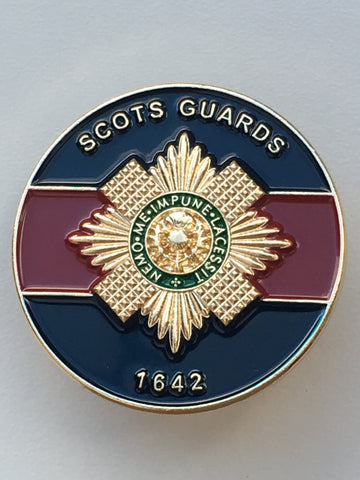 Scots Guards Colours Pin