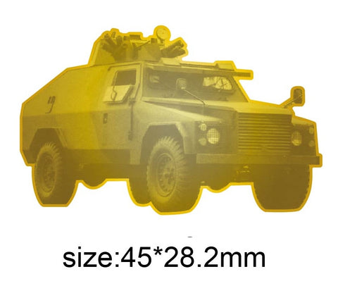 Shorland Armoured Car Lapel Pin