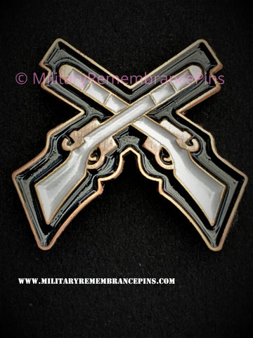 Skill At Arms Marksman Trade Patch Lapel Pin