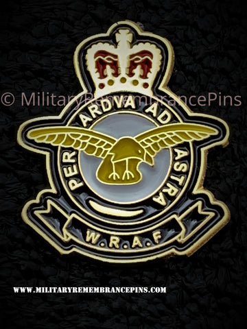 Women's Royal Air Force WRAF Lapel Pin