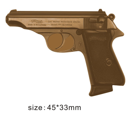 The Walther PP Small Arms Lapel Pin
