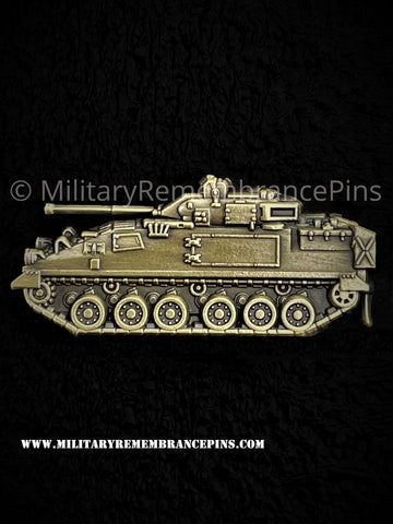 Warrior Infantry Fighting Vehicle FV510 Lapel Pin