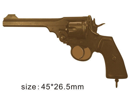 The Webley Revolver MKVI Weapon Lapel Pin