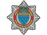 West Sussexl Fire & Rescue Service Remembrance Flower Lapel Pin