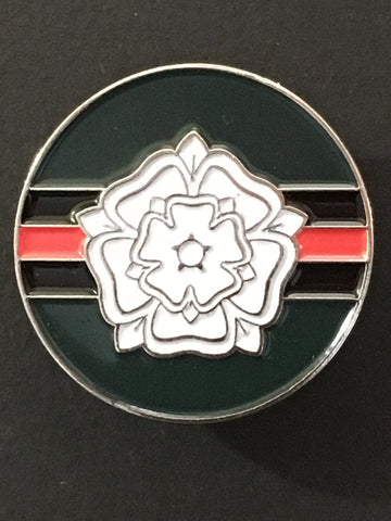 Yorkshire Regiment Colours Lapel Pin