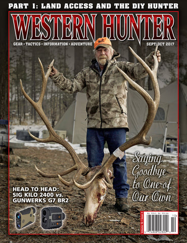 Western Hunter Magazine Sept/Oct 2017