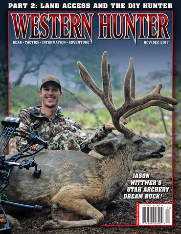 Western Hunter Magazine November/December 2017