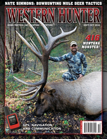 Western Hunter Magazine September/October 2018