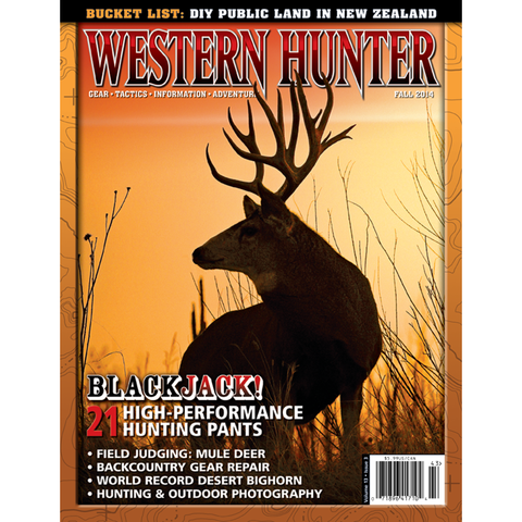 Western Hunter Magazine Fall 2014